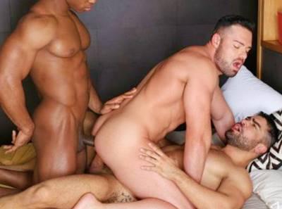 Foda entre homens bombados que adora fuder gostoso