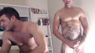 Sexo Quente Tv com dois gays deliciosos transando na web cam