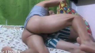 Fudendo gay dormindo socando fundo no cuzinho do safado